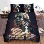 Halloween (I) Movie Art Bed Sheets Spread Comforter Duvet Cover Bedding Sets Ver 1