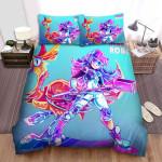 Glitch Techs Miko Digital Artwork Bed Sheets Spread Duvet Cover Bedding Sets