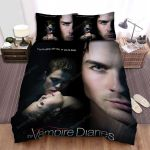The Vampire Diaries (2009–2017) You're Either With Me, Or You're Dead Movie Poster Bed Sheets Spread Comforter Duvet Cover Bedding Sets