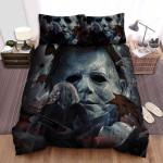 Halloween (I) Movie Art Bed Sheets Spread Comforter Duvet Cover Bedding Sets Ver 34