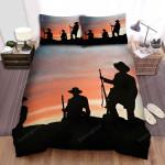 The Alamo Sunset Background Bed Sheets Spread Comforter Duvet Cover Bedding Sets