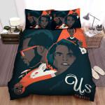 Us (Ii) Movie Art Bed Sheets Spread Comforter Duvet Cover Bedding Sets Ver 4