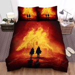 The Sisters Brothers Fire Bed Sheets Spread Comforter Duvet Cover Bedding Sets