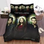 The Vampire Diaries (2009–2017) Love Sucks Movie Poster Bed Sheets Spread Comforter Duvet Cover Bedding Sets