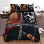Halloween (I) Movie Art Bed Sheets Spread Comforter Duvet Cover Bedding Sets Ver 9