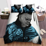 Halloween (I) Movie Art Bed Sheets Spread Comforter Duvet Cover Bedding Sets Ver 5