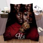 Us (Ii) Movie Poster Bed Sheets Spread Comforter Duvet Cover Bedding Sets Ver 5