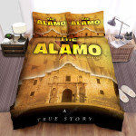 The Alamo Yellow Background Bed Sheets Spread Comforter Duvet Cover Bedding Sets