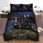 The Vampire Diaries (2009–2017) Give In To Your Appetite  Movie Poster Bed Sheets Spread Comforter Duvet Cover Bedding Sets