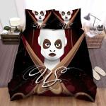 Us (Ii) Movie Art Bed Sheets Spread Comforter Duvet Cover Bedding Sets Ver 11