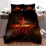 The Alamo  You Will Never Forget Bed Sheets Spread Comforter Duvet Cover Bedding Sets