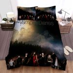 The Vampire Diaries (2009–2017) Full Moon Movie Poster Bed Sheets Spread Comforter Duvet Cover Bedding Sets