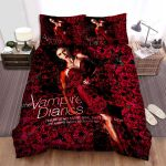 The Vampire Diaries (2009–2017) Rose Garden Movie Poster Bed Sheets Spread Comforter Duvet Cover Bedding Sets