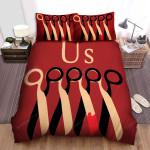 Us (Ii) Movie Art Bed Sheets Spread Comforter Duvet Cover Bedding Sets Ver 8