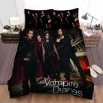 The Vampire Diaries (2009–2017) Will They Be Guests At Klaus's Party Movie Poster Bed Sheets Spread Comforter Duvet Cover Bedding Sets