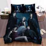 The Vampire Diaries (2009–2017) Family Movie Poster Bed Sheets Spread Comforter Duvet Cover Bedding Sets