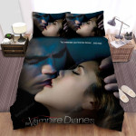 The Vampire Diaries (2009–2017) You Remember Your First Kiss Forever And Ever Movie Poster Bed Sheets Spread Comforter Duvet Cover Bedding Sets