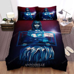 Annabelle Comes Home Movie Painting Photo Bed Sheets Spread Comforter Duvet Cover Bedding Sets