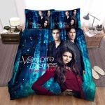 The Vampire Diaries (2009–2017) The Year Of Transition Movie Poster Bed Sheets Spread Comforter Duvet Cover Bedding Sets