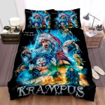 Krampus (I) You Don't Want To Be On His List Bed Sheets Spread Comforter Duvet Cover Bedding Sets