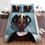 Us (Ii) Movie Art Bed Sheets Spread Comforter Duvet Cover Bedding Sets Ver 20
