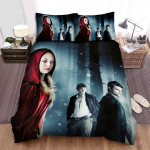 Red Riding Hood Boys Bed Sheets Spread Comforter Duvet Cover Bedding Sets