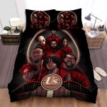 Us (Ii) Movie Art Bed Sheets Spread Comforter Duvet Cover Bedding Sets Ver 23