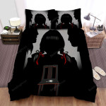 Annabelle Comes Home Movie Dark Photo Bed Sheets Spread Comforter Duvet Cover Bedding Sets