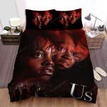 Us (Ii) Movie Poster Bed Sheets Spread Comforter Duvet Cover Bedding Sets Ver 4