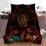 Us (Ii) Movie Art Bed Sheets Spread Comforter Duvet Cover Bedding Sets Ver 22