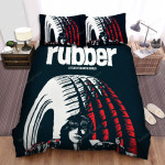 Rubber (2010) Paint Bed Sheets Spread Comforter Duvet Cover Bedding Sets
