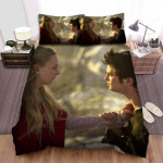 Red Riding Hood Touching The Heart Bed Sheets Spread Comforter Duvet Cover Bedding Sets