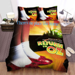 Return To Oz Red Shoes Bed Sheets Spread Comforter Duvet Cover Bedding Sets