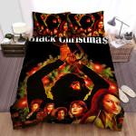 Black Christmas Murderbehind Us Bed Sheets Spread Comforter Duvet Cover Bedding Sets