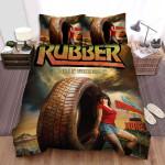 Rubber (2010) Poster Ver3 Bed Sheets Spread Comforter Duvet Cover Bedding Sets