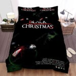 Black Christmas Screaming In The Dark Bed Sheets Spread Comforter Duvet Cover Bedding Sets
