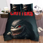 Critters Bloody Mouth Bed Sheets Spread Comforter Duvet Cover Bedding Sets