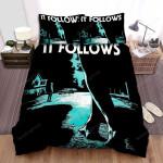 It Follows Leg Bed Sheets Spread Comforter Duvet Cover Bedding Sets