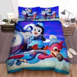 T.O.T.S. Pip And Freddy Bed Sheets Spread Duvet Cover Bedding Sets
