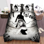 It Follows Scared Bed Sheets Spread Comforter Duvet Cover Bedding Sets