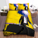 It Follows Yellow  Bed Sheets Spread Comforter Duvet Cover Bedding Sets
