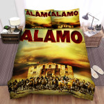 The Alamo Movie Army Photo Bed Sheets Spread Comforter Duvet Cover Bedding Sets