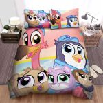 T.O.T.S. Pip And Freddy Taking Care The Tiny Ones Bed Sheets Spread Duvet Cover Bedding Sets