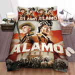 The Alamo Movie Art Photo Bed Sheets Spread Comforter Duvet Cover Bedding Sets