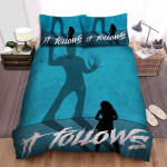 It Follows Shadow Bed Sheets Spread Comforter Duvet Cover Bedding Sets