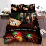 Black Christmas This Holiday Season The Slay Ride Begins Bed Sheets Spread Comforter Duvet Cover Bedding Sets