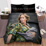 A Quiet Place Part Ii Evelyn Abbott Movie Poster Bed Sheets Spread Comforter Duvet Cover Bedding Sets Ver 1