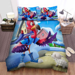 T.O.T.S. Pip And Freddy Under The Snow Bed Sheets Spread Duvet Cover Bedding Sets