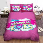 T.O.T.S. Calling All T.O.T.S.Bed Sheets Spread Duvet Cover Bedding Sets
