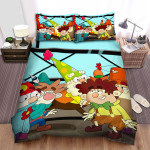 The 7d Group Picture Bed Sheets Spread Duvet Cover Bedding Sets